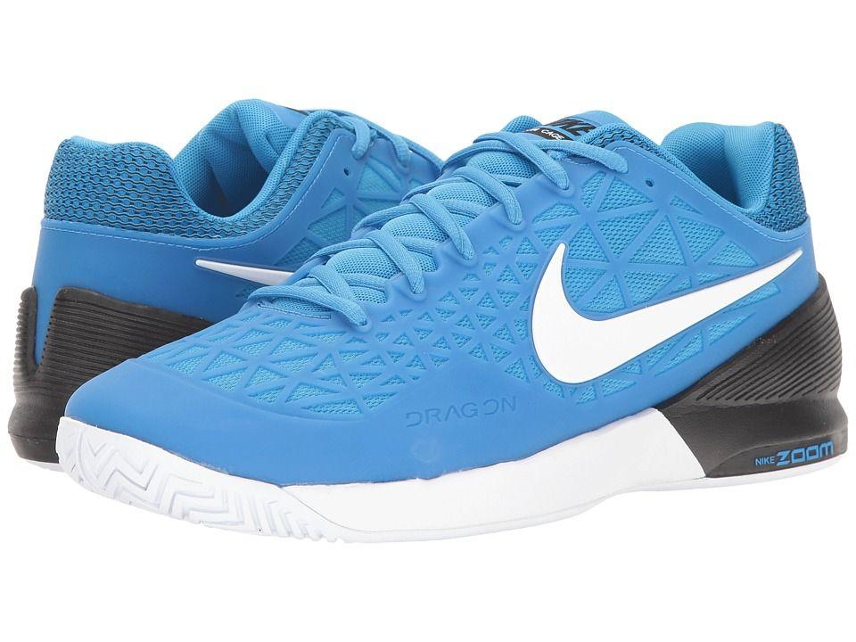 1a1cca25e7b010 NIKE NIKE - ZOOM CAGE 2 (LIGHT PHOTO BLUE WHITE BLACK) MEN S TENNIS SHOES.   nike  shoes