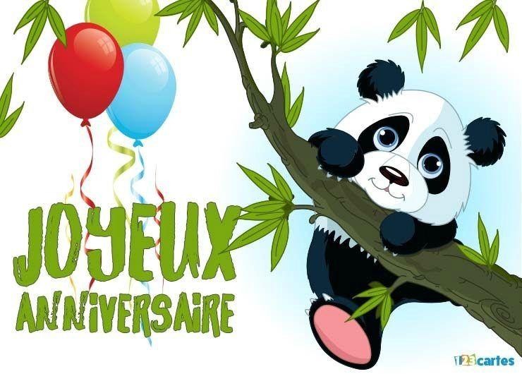 Carte D Anniversaire 9 Ans Fille Panda Hugo L Escargo Recherche Google Carte Joyeux Anniversaire Carte Anniversaire Anniversaire Panda