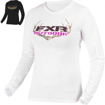 Fxr Outdoor Long Sleeve Womens Shirts Womens Long Sleeve Shirts