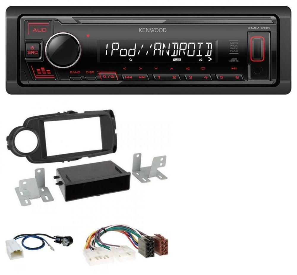 Ebay Angebote Mp3 Kenwood Mp3 Aux Usb 1din Autoradio Fur Toyota
