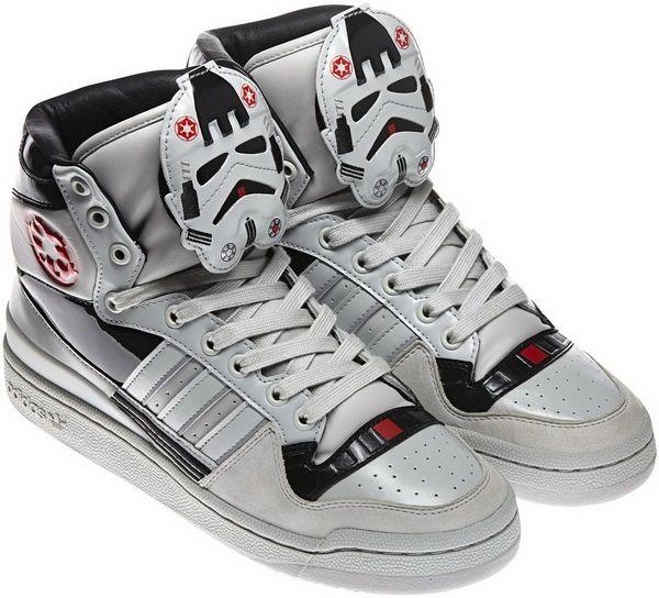 online retailer ab6fd ae035 Star Wars x Adidas Storm Trooper Sneakers