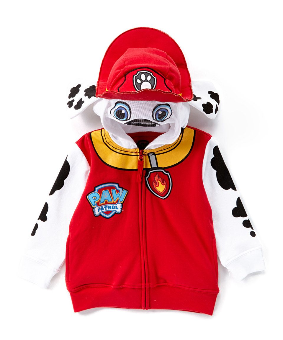 cef42efd9 Another great find on  zulily! Red PAW Patrol Marshall Eared Zip-Up ...