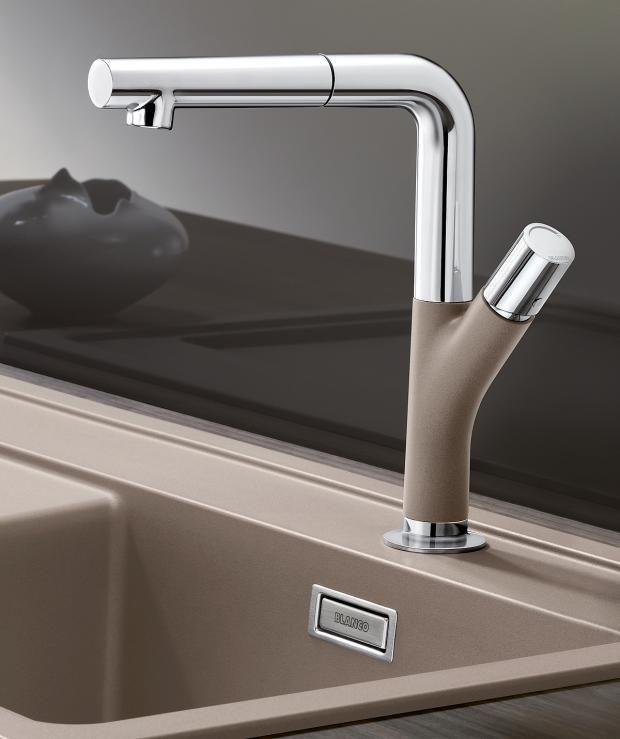 Farbig Chromarmatur Yovis S Von Blanco Bild 6 Wasserhahn Badezimmerarmatur Waschbecken Armaturen
