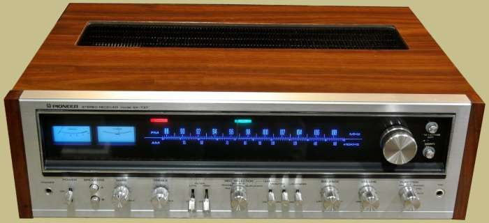 pioneer sx 737 classic receivers vintage stereo. Black Bedroom Furniture Sets. Home Design Ideas