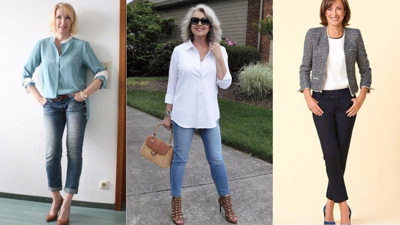 Como vestirse una mujer de 60 años moderna