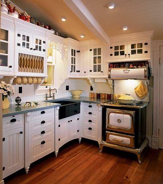 Viktorianische Küche Dekor Kitchen Home kitchens, Kitchen und House