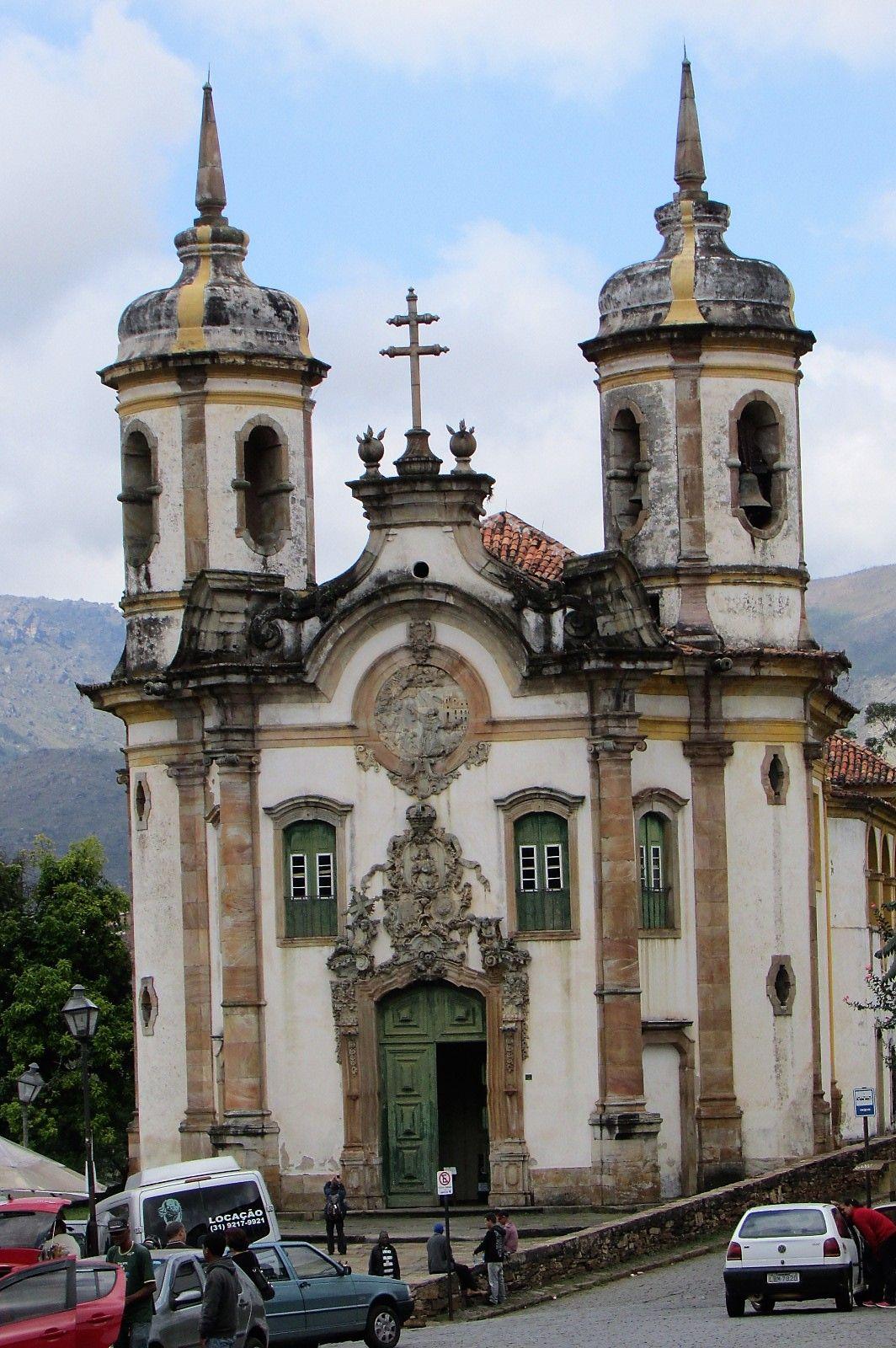 Igreja De Sao Francisco De Assis Situada Na Cidade De Ouro Preto
