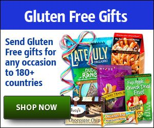 gluten free gifts, easily sent to friends and family around the world! This is awesome!