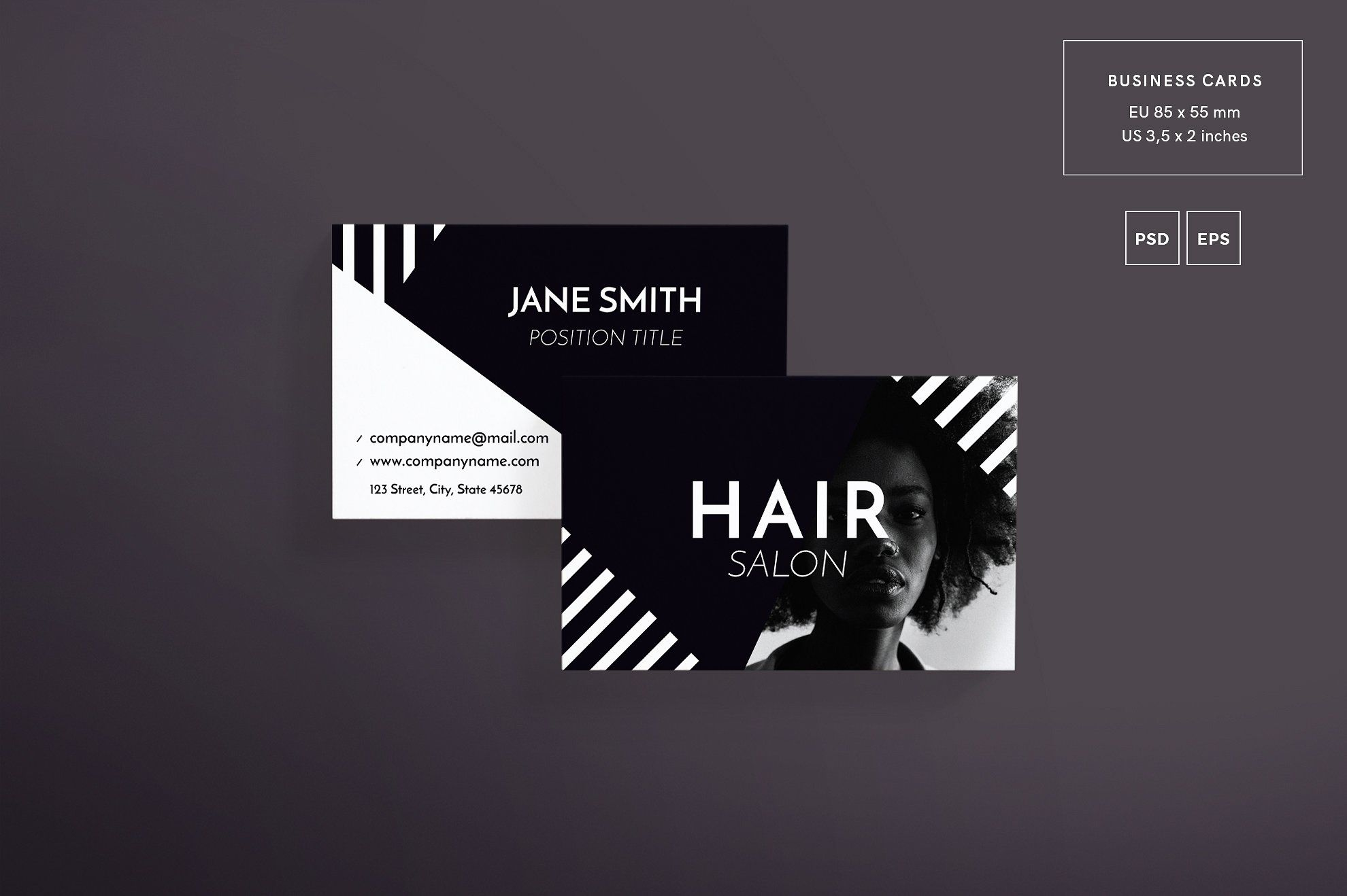 Mega Bundle Hair Salon With Images Business Cards Hair Salon