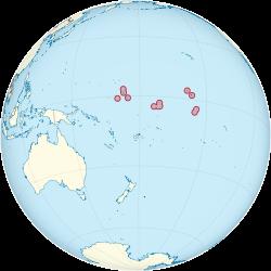 Kiribati Wikipedia - Where is hawaii located on the map