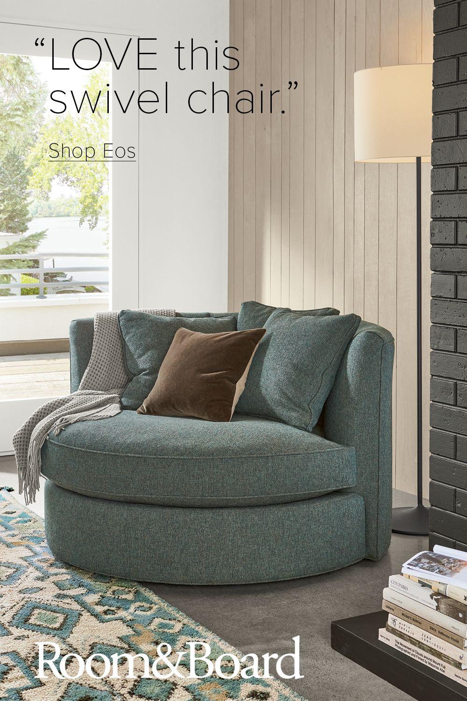Eos Swivel Chairs Modern Living Room Furniture Room Board Living Room Furniture Home Home Decor