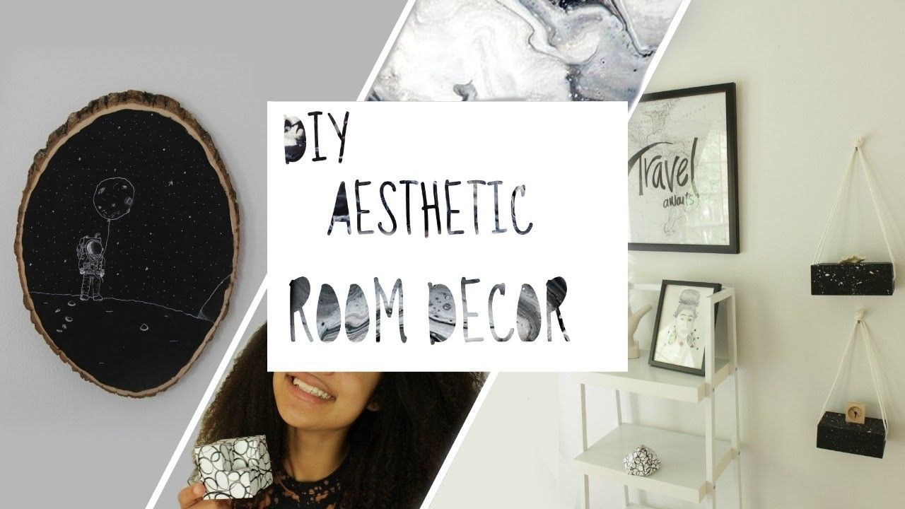CHEAP EASY AESTHETIC ROOM DECOR (With images) | Aesthetic ...