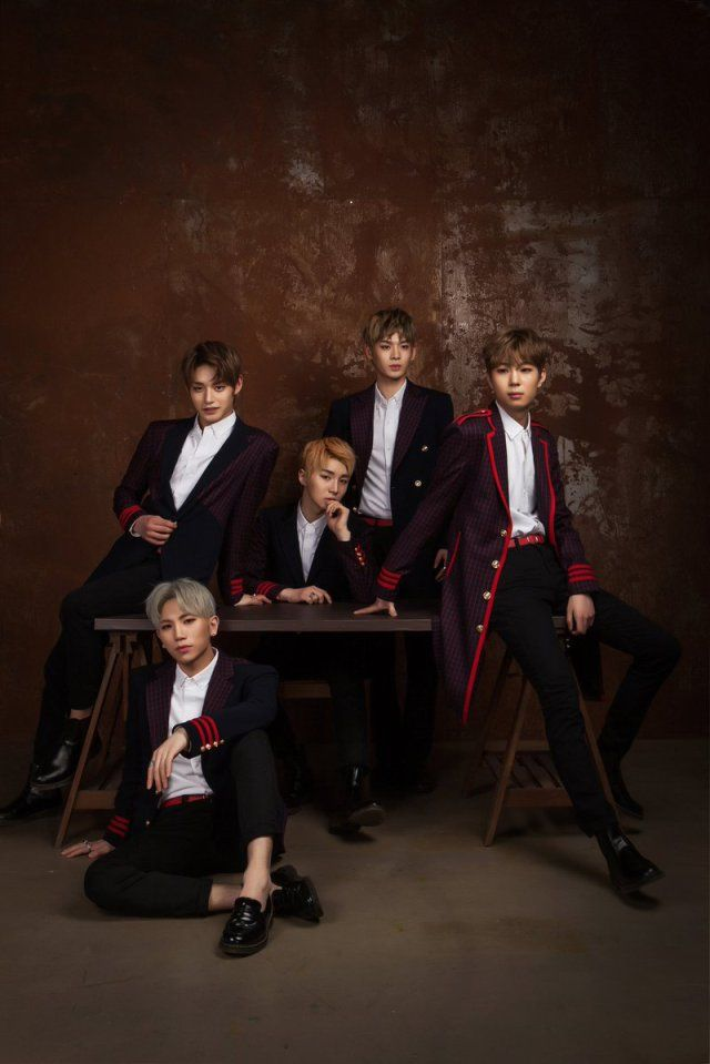Inx Is A Relatively New Boy Group Consisting Of 5 Members And Signed Under Na Teaser Boy Groups How To Look Handsome