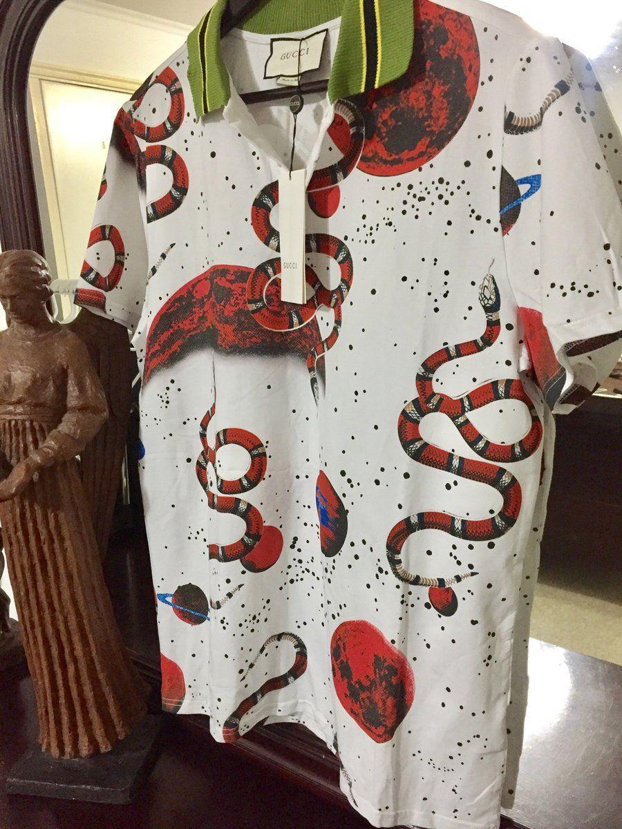 c77e9801c Gucci Shirt 'Size Eu. 2XL' (2017 Space Collection) Exclusive!! –  OmarsHighEndStore.com