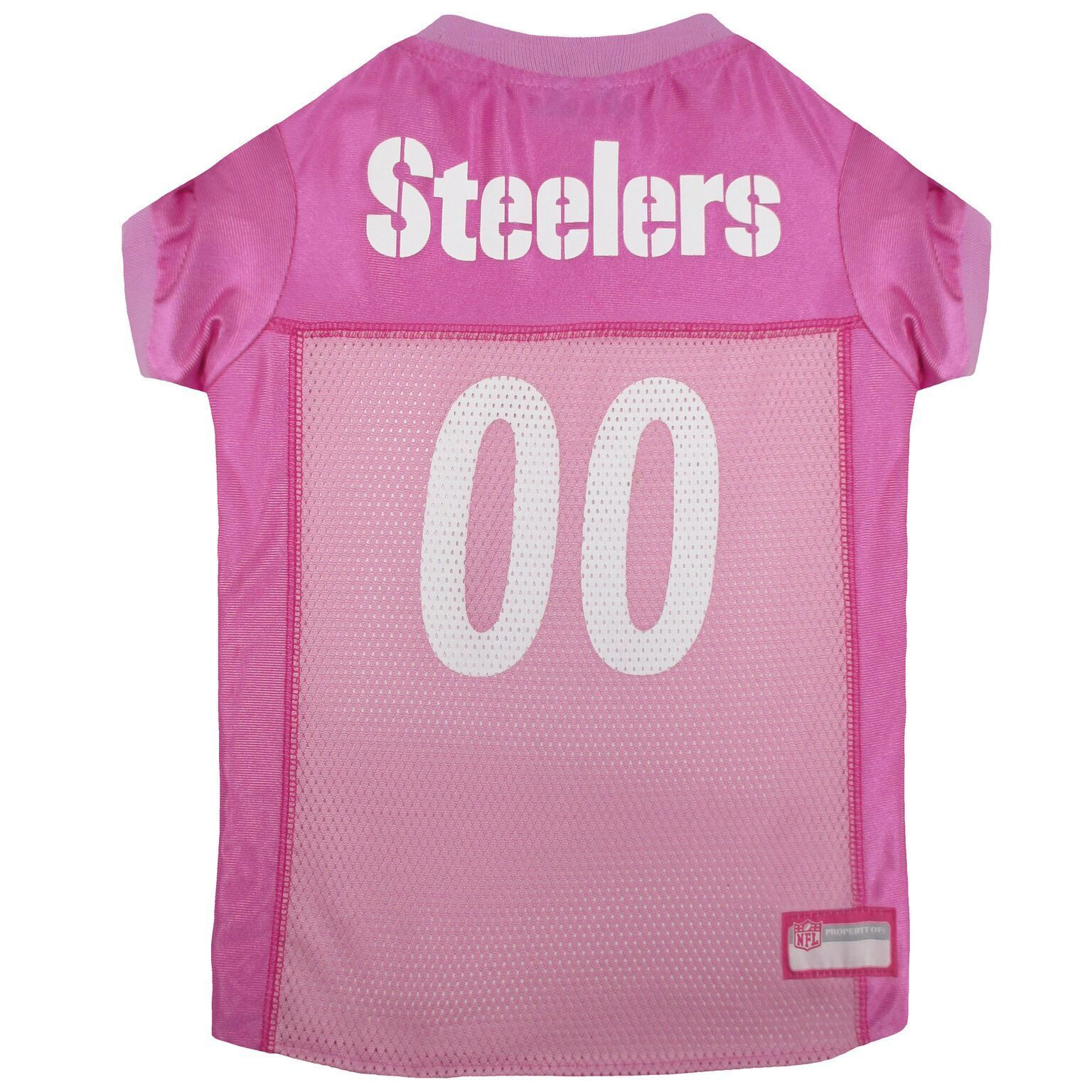 Pittsburgh Steelers Dog Jersey Pink Pittsburgh