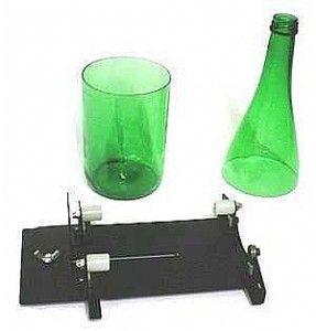 flaschenschneider solide schneidvorrichtung aus metall f r flaschen thrift recycling. Black Bedroom Furniture Sets. Home Design Ideas