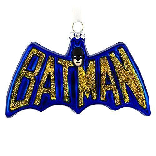 Hallmark Batman Logo Christmas Ornament * Click image to review more details.