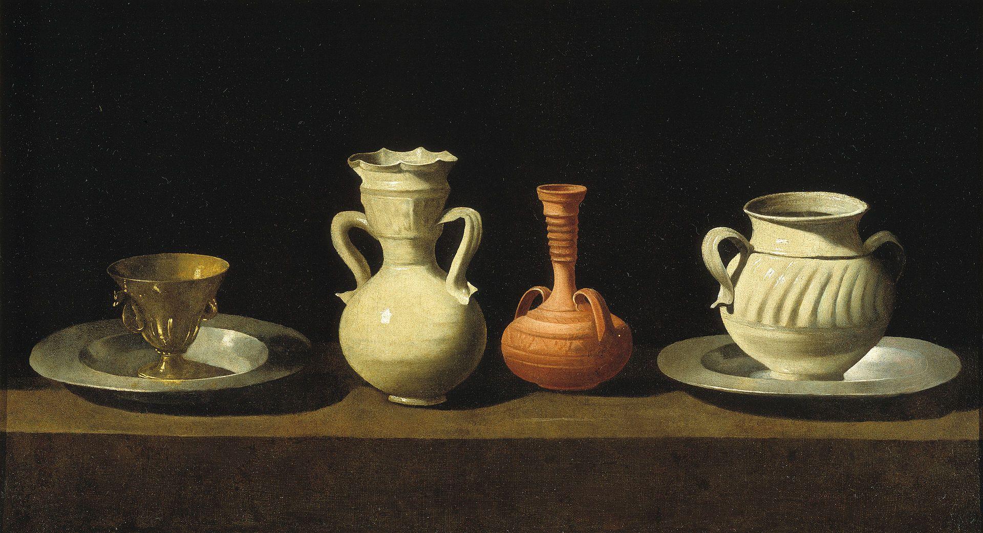 Bodegón de recipientes (Zurbarán) - Испанская живопись XVII века — Википедия