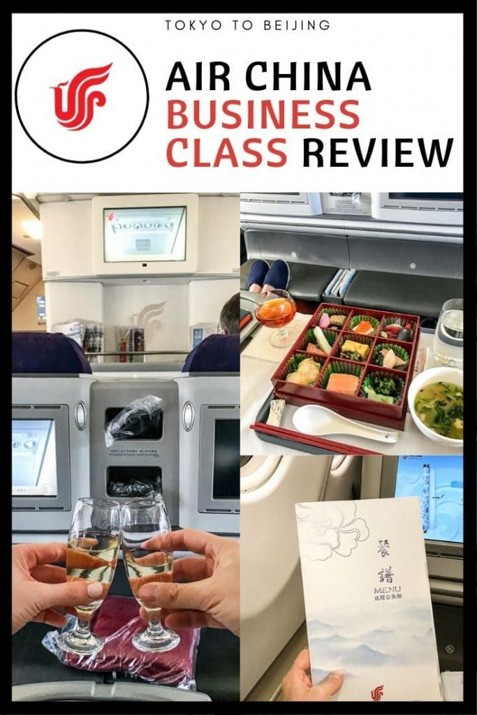 Air China Business Class Review A330300 HNDPEK in 2020