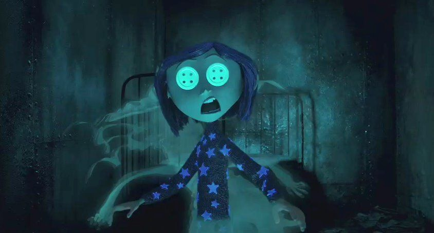 The Beldam She Spied On Our Lives Through The Little Doll S Eyes And Saw That We Weren T Happy So She Lured Coraline Aesthetic Coraline Movie Coraline