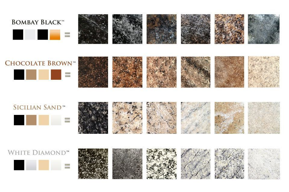 A Few Examples Of The Many Ways Giani Granite Countertop
