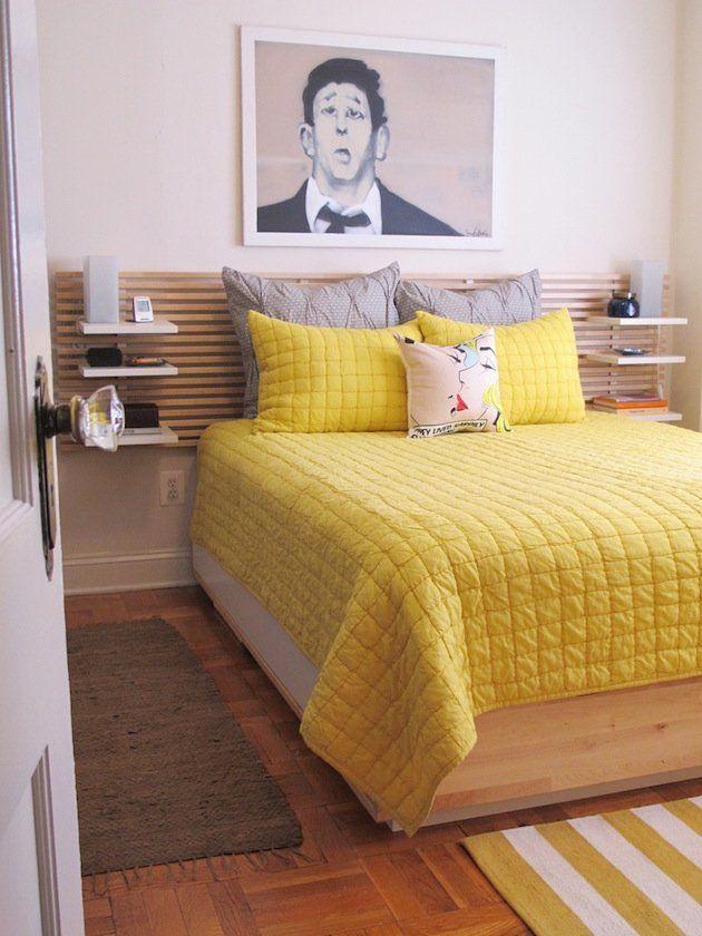 10 id es pour transformer la t te de lit ikea mandal. Black Bedroom Furniture Sets. Home Design Ideas