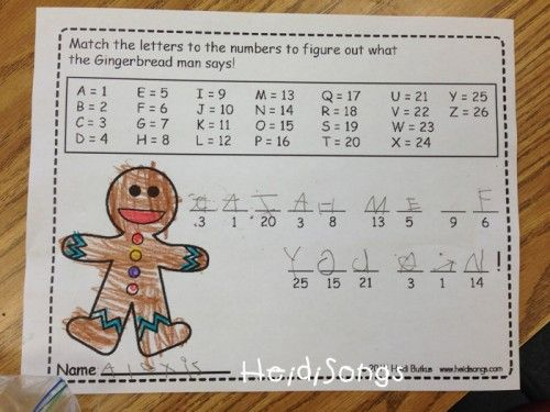 Gingerbread Man Time Freebies Gingerbread Gingerbread Man Coding