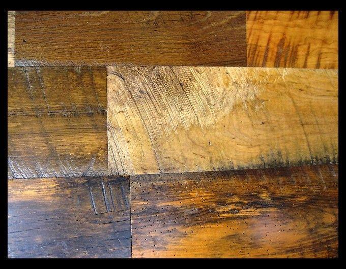 Reclaimed Skip Sanded Wide Plank Mixed Hardwoods Engineered Flooring