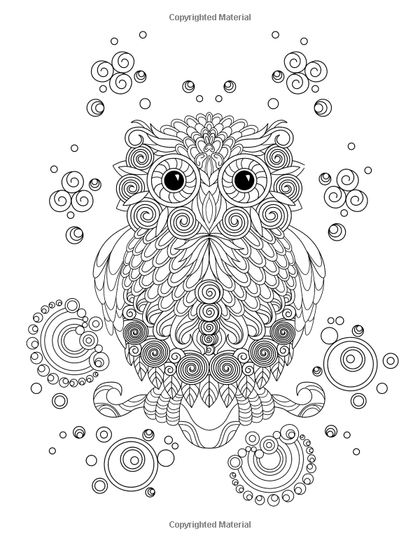 Coloring Book For Adults Amazing Swirls Happy Coloring Elena