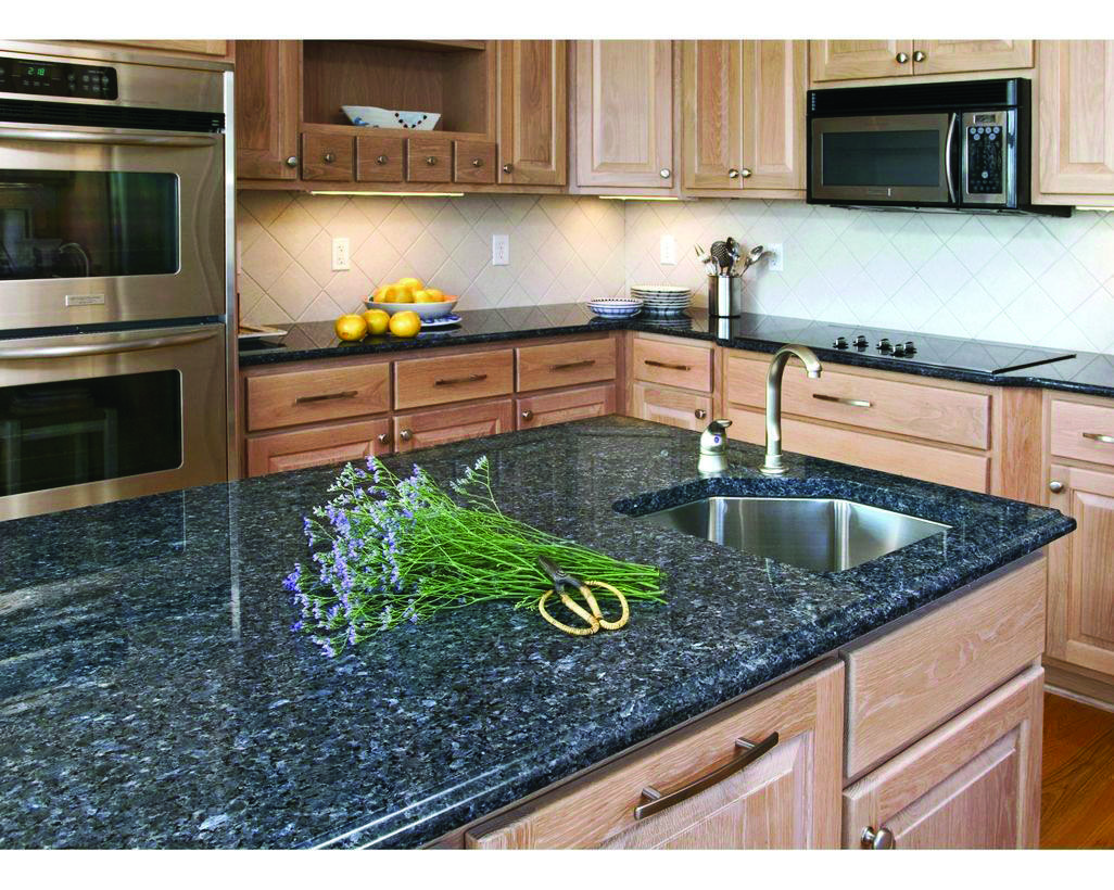 Dark Marble Countertops Colors Styles Blue Kitchen