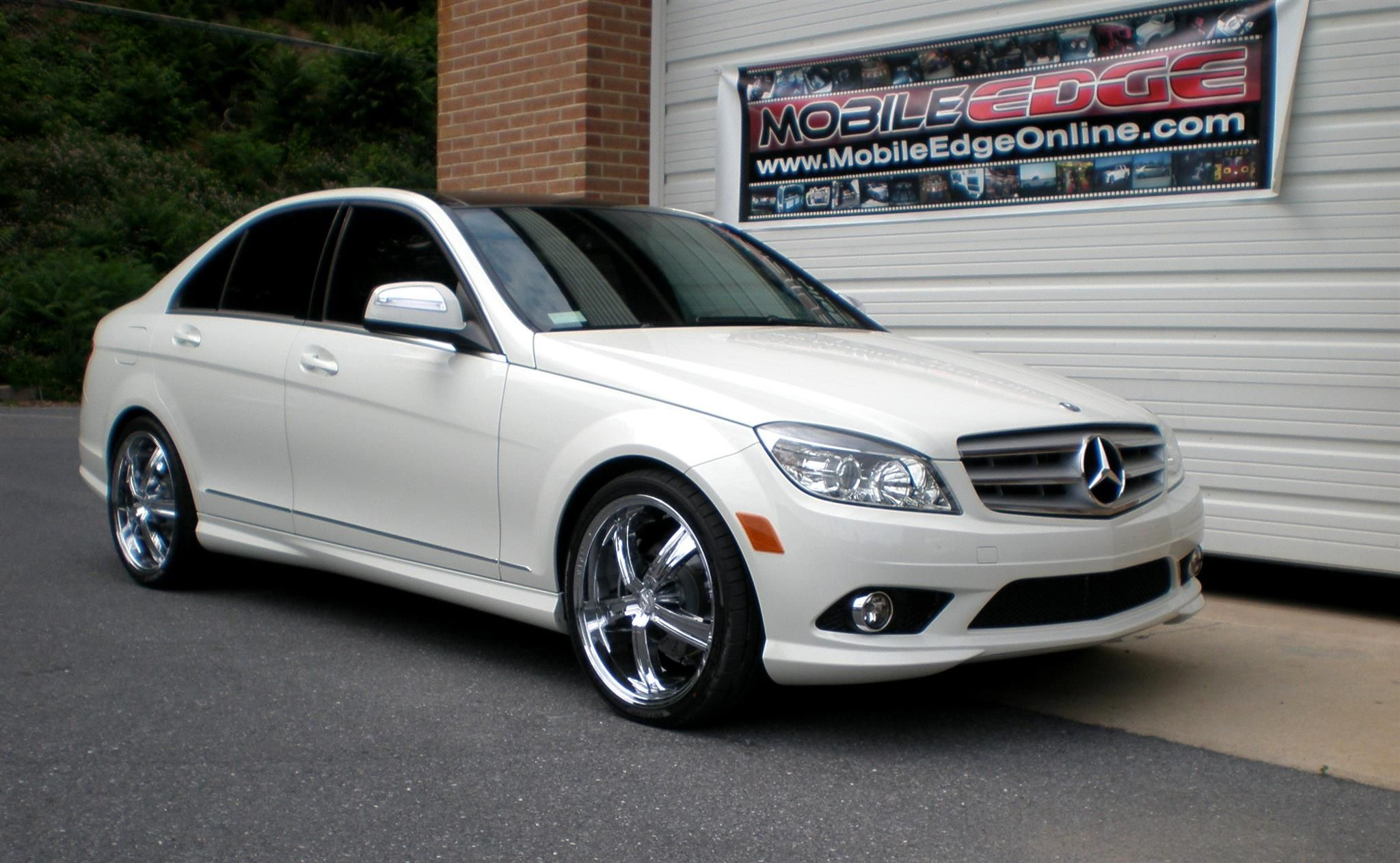 2008 Mercedes C300 Window Tint Mobile Edge Lehighton Pa Us