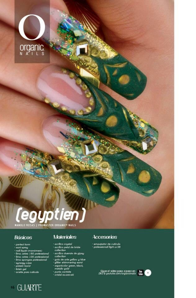 Manolo Rosas/ ProMaster Organic® Nails | Uñas Acrílicas | Pinterest ...