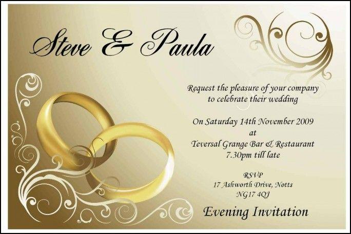 Wedding Invitation Cards Designs Templates Wedding Ideas