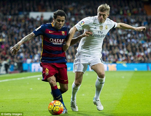barcelona vs real madrid el clasico xi cristiano ronaldo misses out