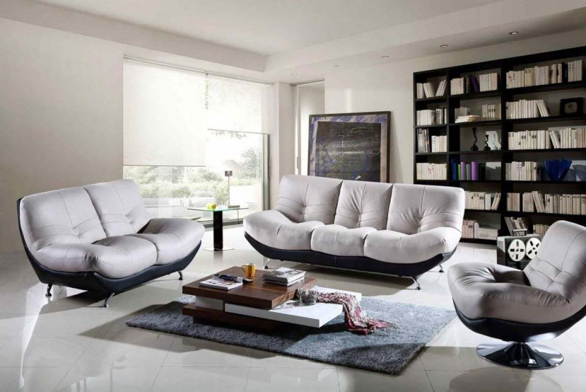 comfortable-sofa-sets-with-black-and-white-grey-accent-chairs-for-living-room
