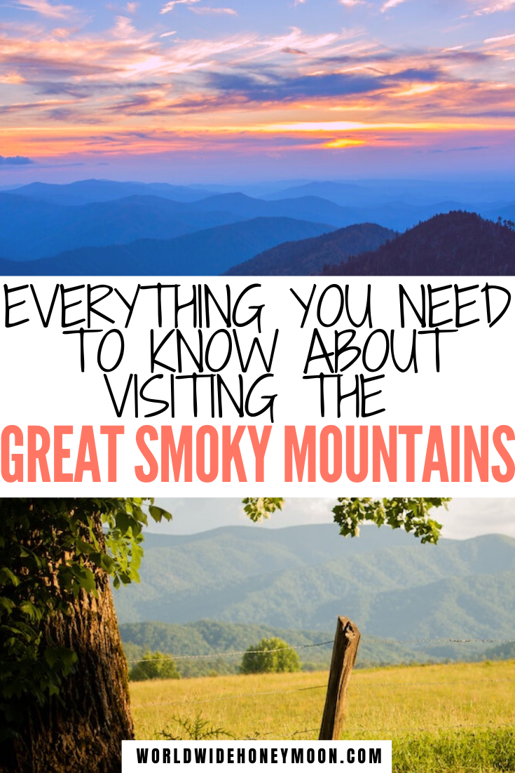 The Ultimate Great Smoky Mountains Vacation Guide World Wide Honeymoon In 2020 Smoky Mountains Vacation Mountain Vacations Usa Travel Destinations