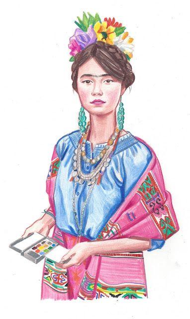 What My Daughter Wore: Frida Costume