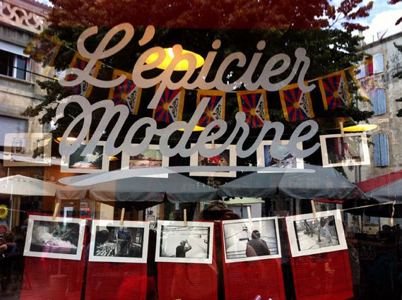 L épicier Moderne Arles Arles Neon Signs Broadway Shows