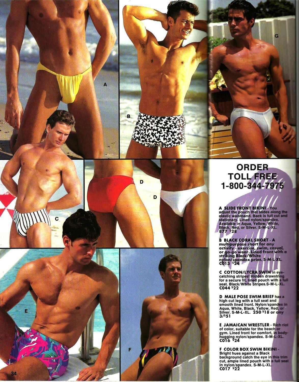 c0460ef38da09 Malepak, catalog, underwear, speedo | 80's / 90's Men's underwear ...