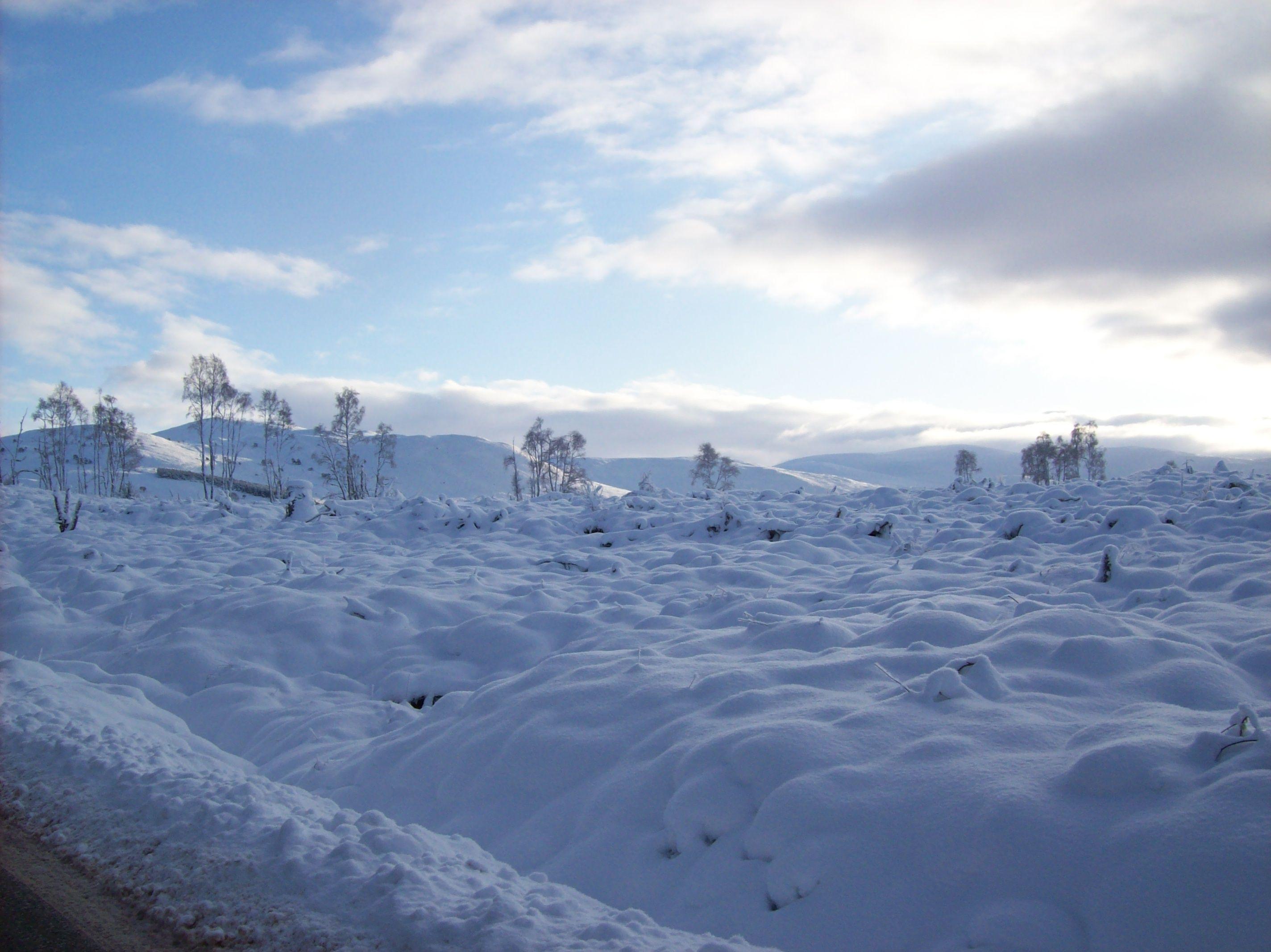 Distant hills, Errogie, Scotland