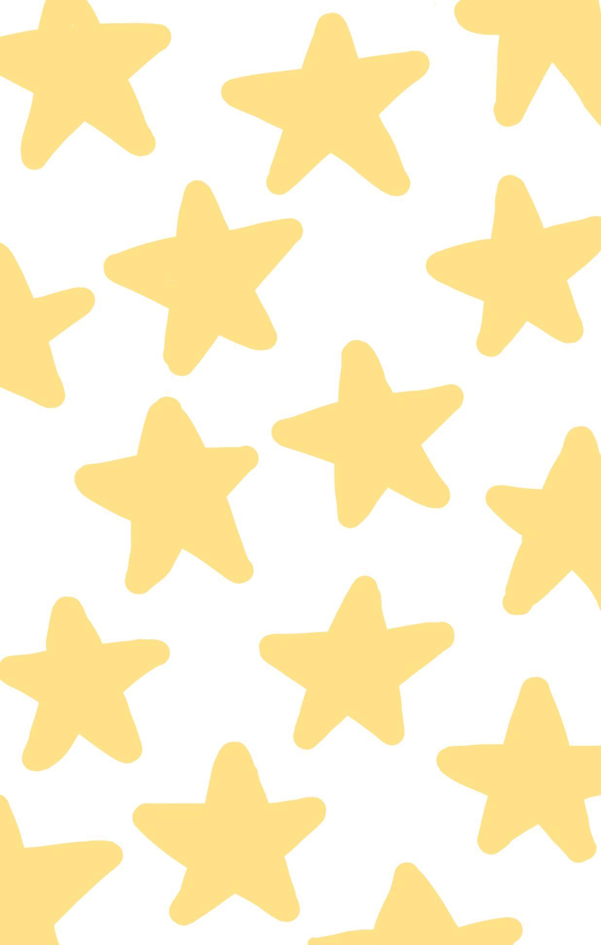 yellow stars iphone background wallpaper got artsy