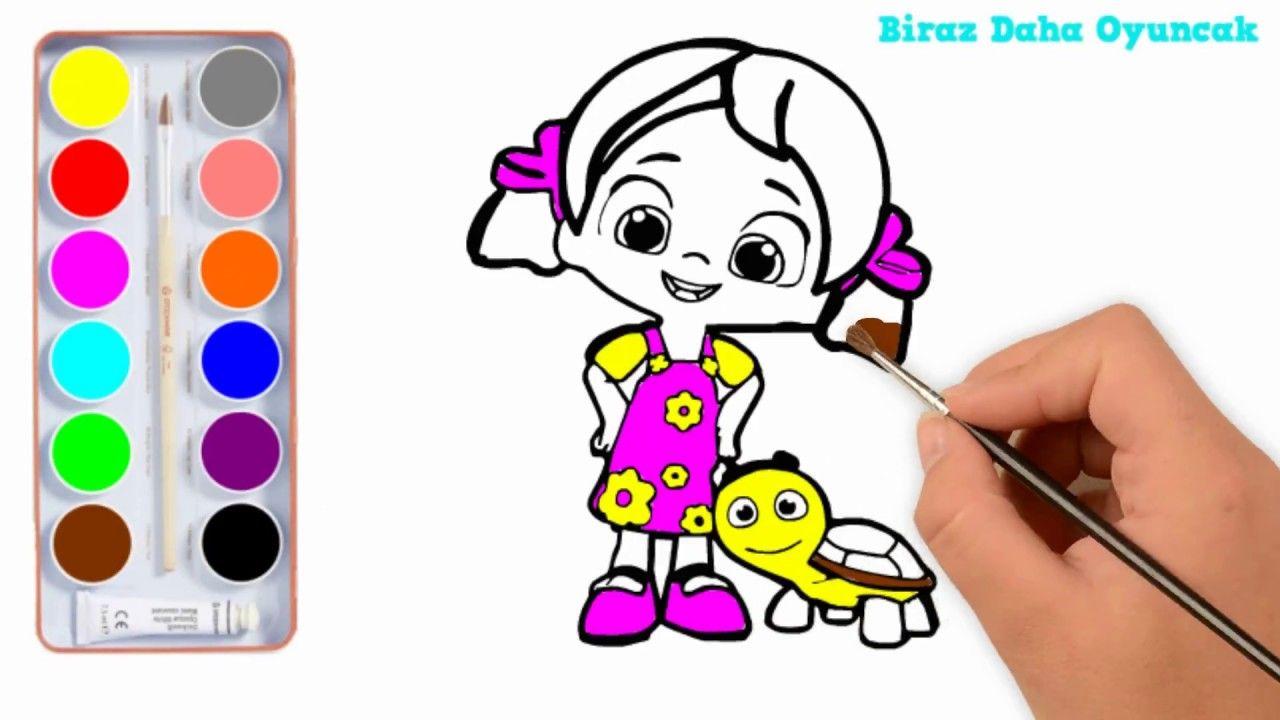 Niloya Ve Pepee Boyama çocuklar Için Boyama Videoları Bebek