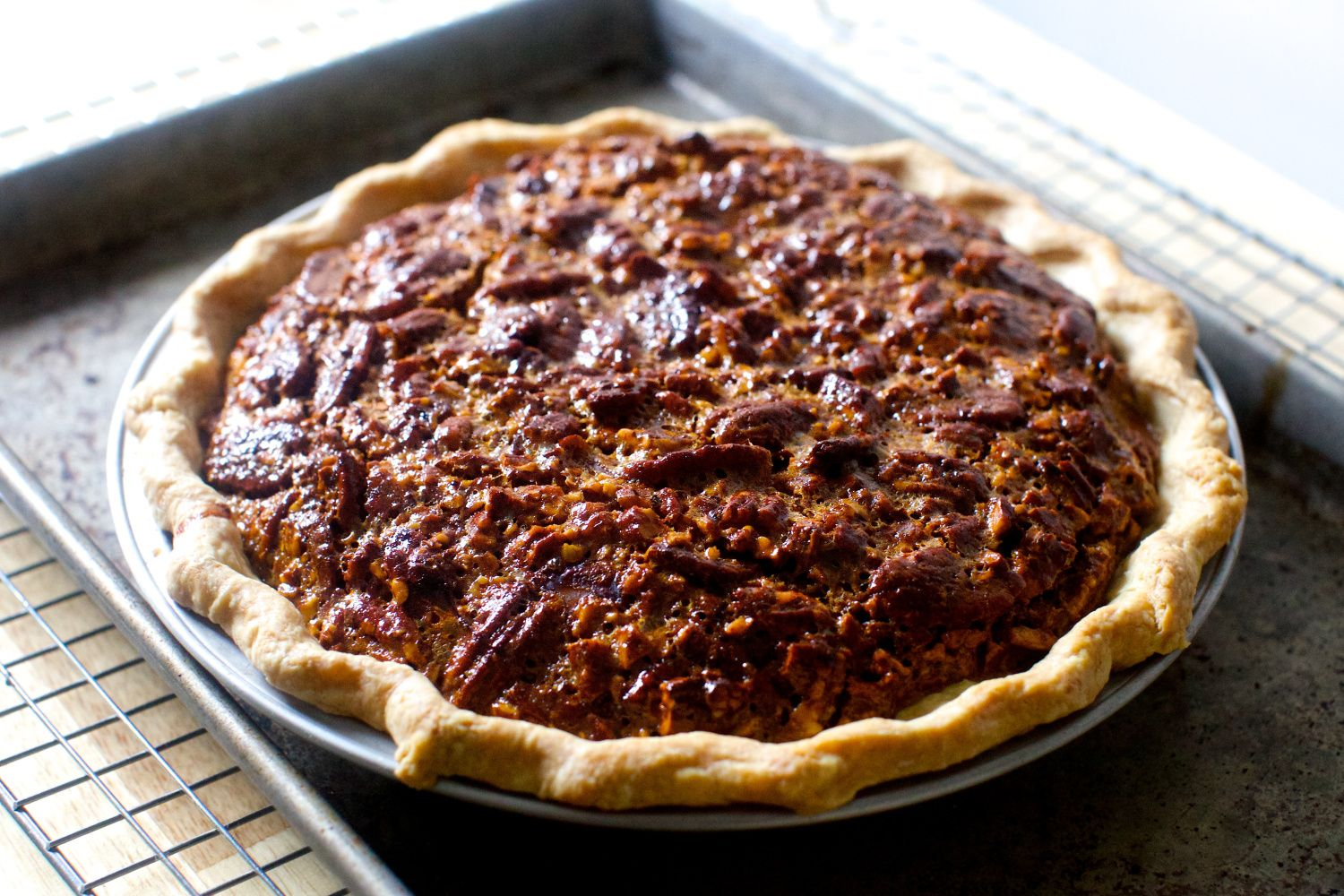 pecan pie We liked this - the golden syrup makes it | Tried recipes ...