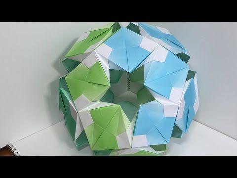【Modular Origami】しざーすけA30枚組【ユニット折り紙】18 - YouTube