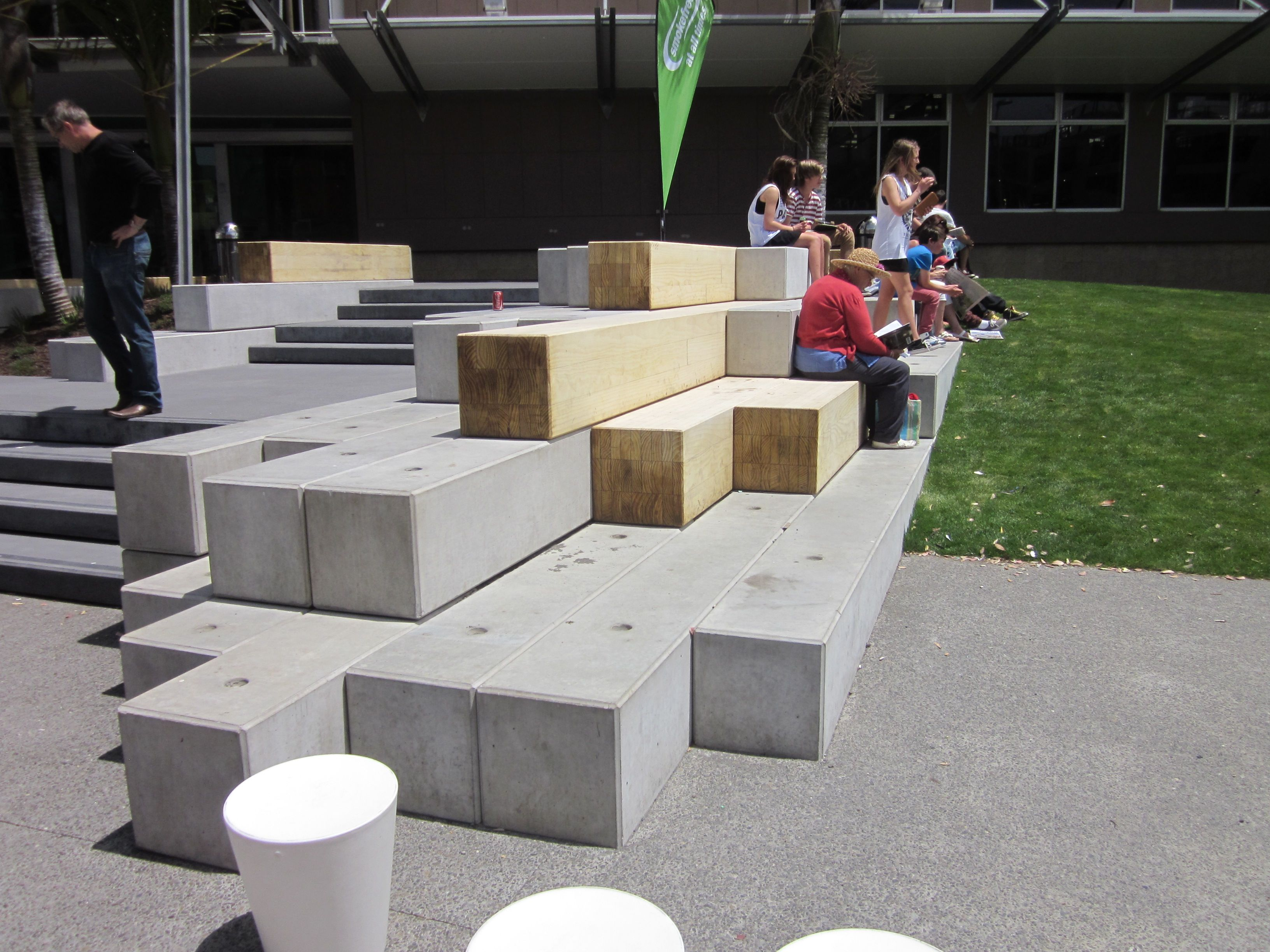 Accoya Street Furniture Lower Brougham Street Upgrade New Zealand