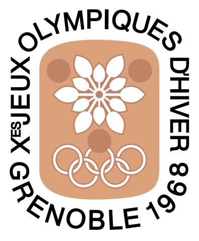 Logo of the 1968 Winter Olympi...