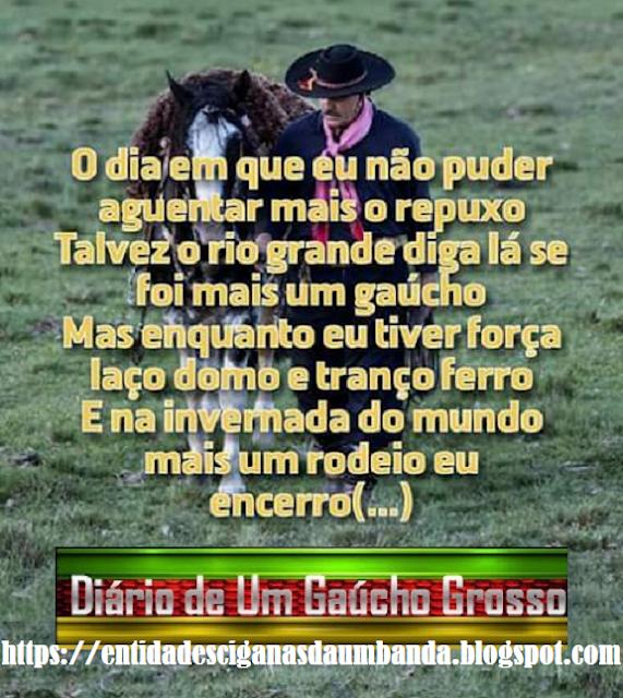 Diário De Um Gaúcho Grosso Frases Gaúchas Frases Rodeio