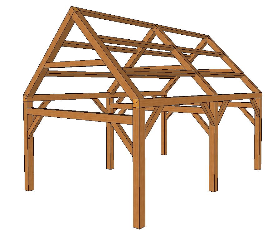 Timber Frame Kits - Kennebec Timber Framing | Post and Beam ...