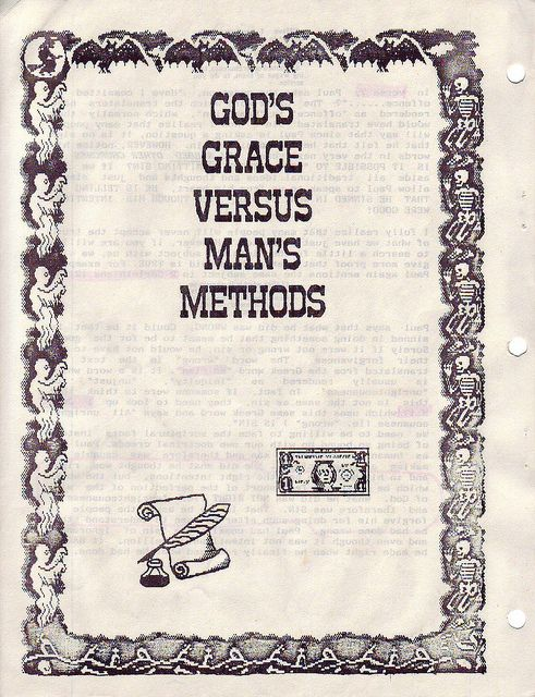 GOD'S GRACE VERSUS MAN'S METHODS BIBLE STUDY     Spiritual wholeness and wellness in all areas of life.
