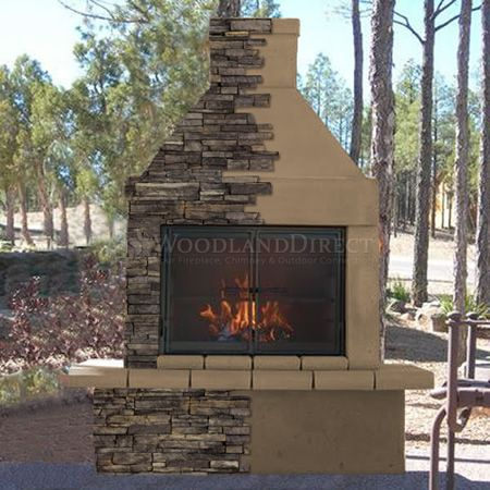 239. Sounds like the best built one of pre -made outdoor fireplaces and it